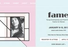 FAME Fashion Trade Shows NY 8 al 10 Enero