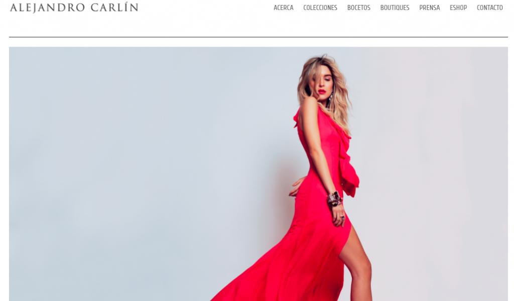 Alejandro Carlín Diseño de modas y la alta costura