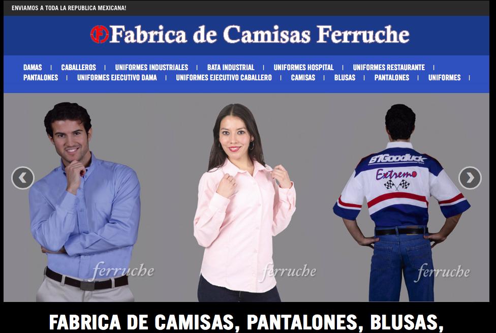 Ferruche es una fabrica de camisas – Uniformes 6955717eb6f0f