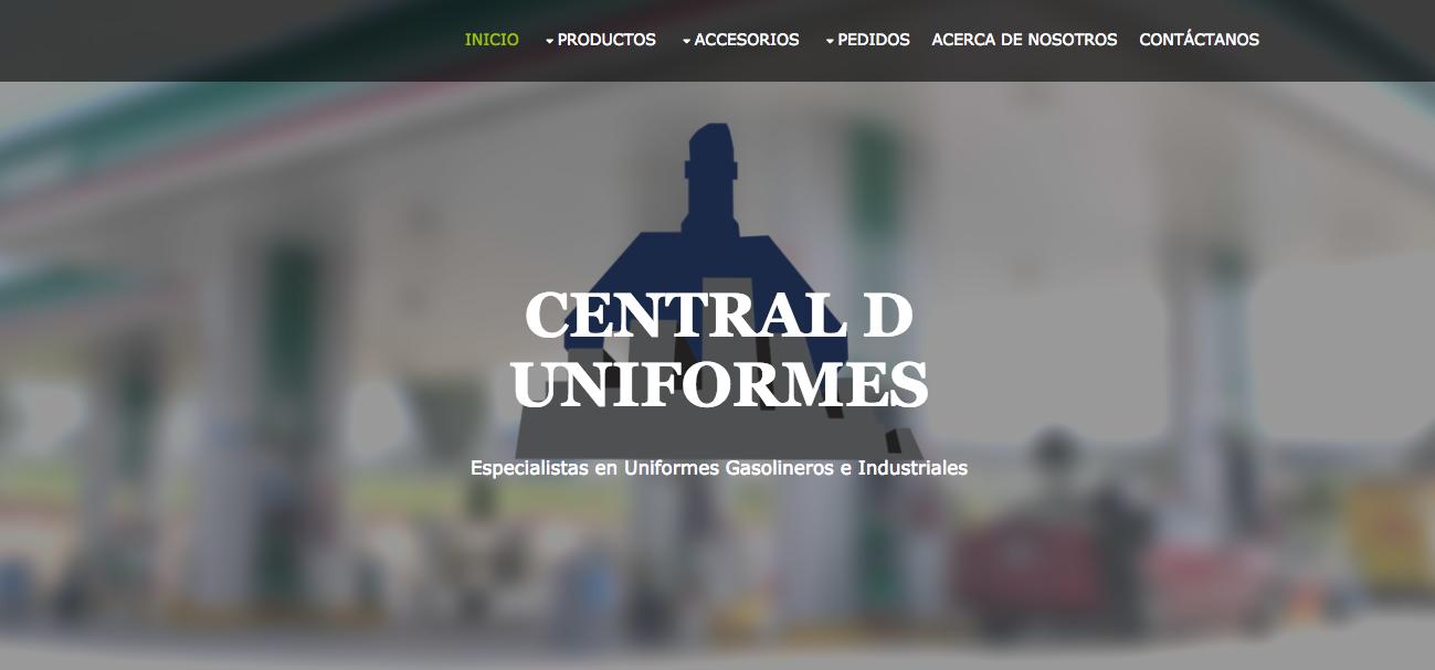 CENTRAL DE UNIFORMES… uniformes gasolineros e industriales. 8ad169cdc6076