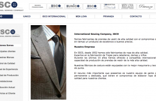 Uniformes ISCO  (INTERNATIONAL SEWING COMPANY)
