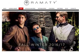 Fabrica de Ropa RAMATY Moda de caballeros